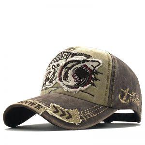 New Cotton Men baseball cap for women snapback hat Shark embroidery bone caps gorras casual casquette men baseball hats